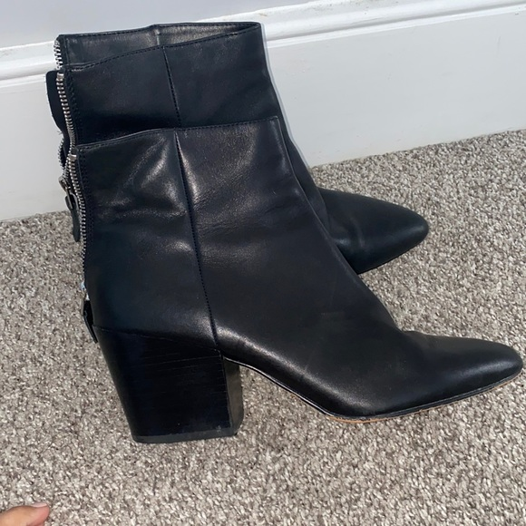 Dolce vita leather booties size 8.5